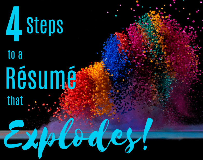 4 steps to a great resume