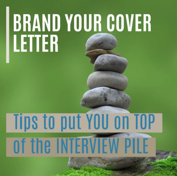 Video on how to brand your cover letter to put you on top of the interviewer's pile