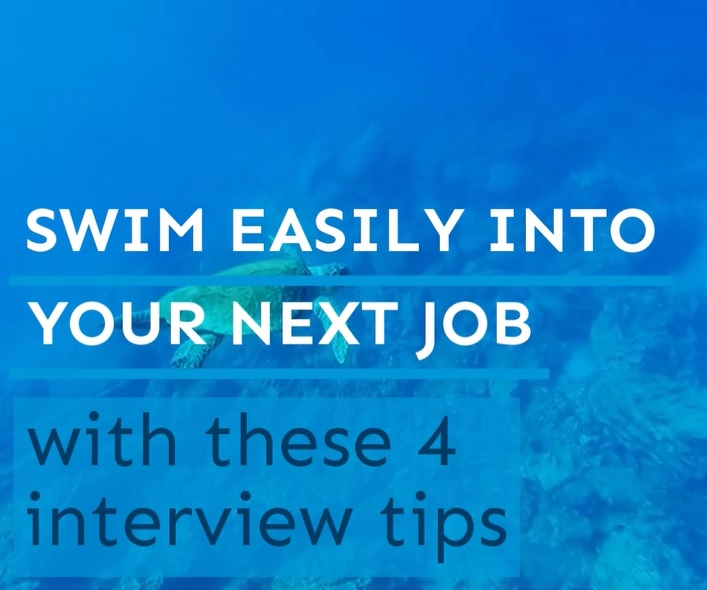 Video on 4 interview tips to help you win the job