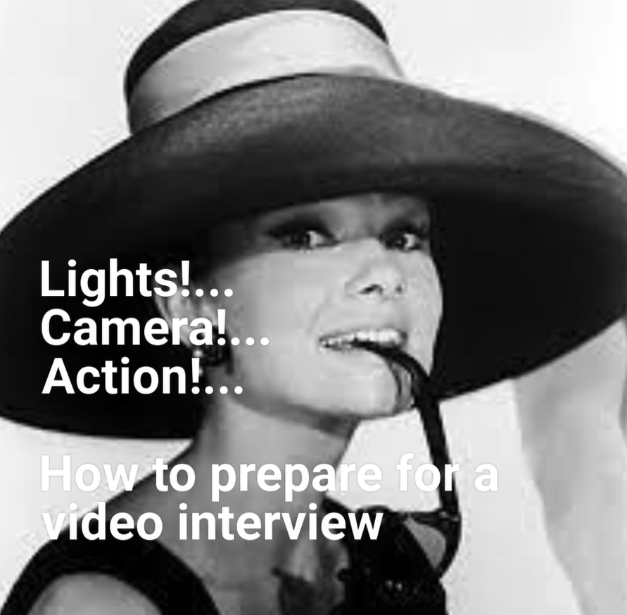 Video on how to prepare for a video interview
