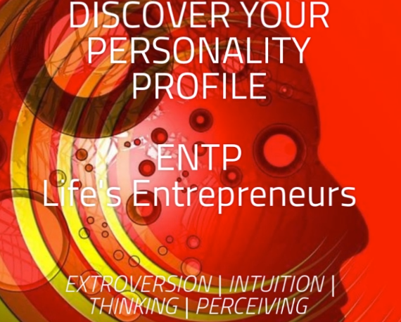 Infographic on MBTI Personality Profile ENTP