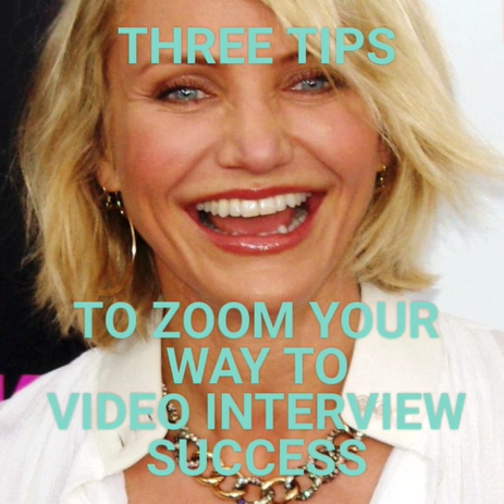 Video with 3 tips on how to succeed in video interviews