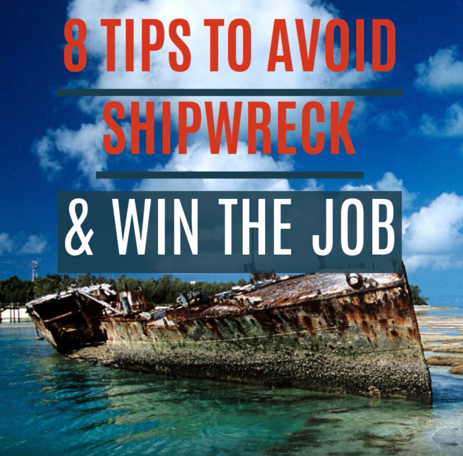 Video with 8 Tips on how to avoid job search mistakes to help you win the job