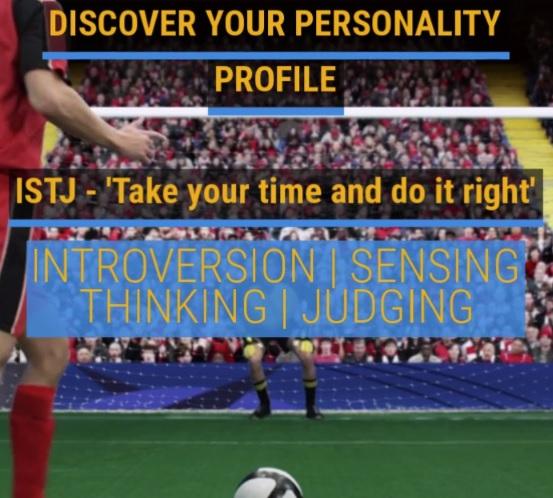 Career video on MBTI Personality Profile ISTJ