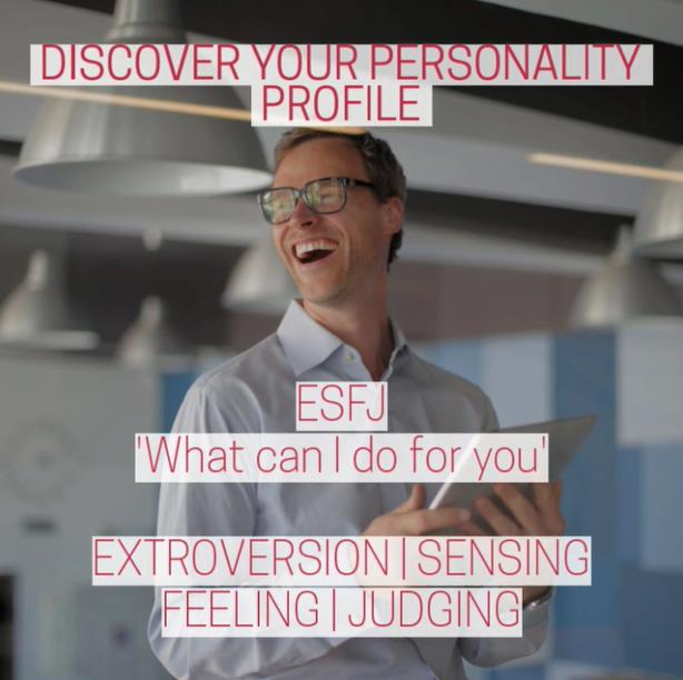 Video Cover MBTI Personality Profile ESFJ